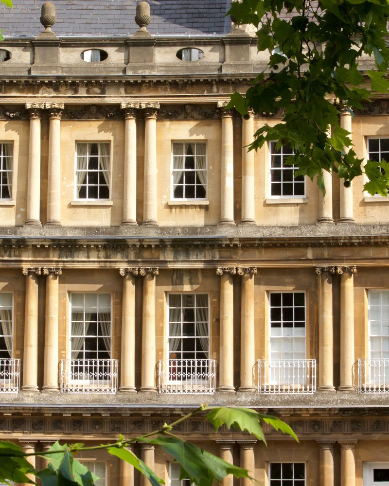Building facade in Bath