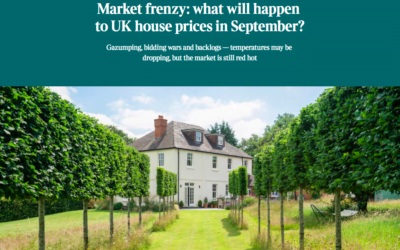 UK Property Market Frenzy: What Will Happen To UK Property Prices in September 2021?